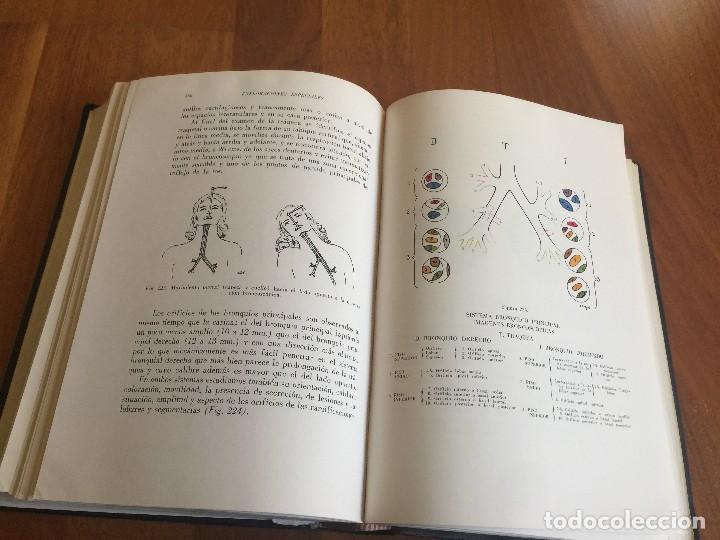 Libros antiguos: Libro CLÍNICA DEL APARATO RESPIRATORIO, DR Jimenez, University Society Mexicana 1954 - Foto 5 - 118955719