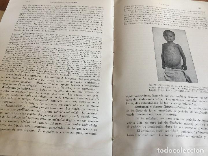 Libros antiguos: Libros TRATADO DE MEDICINA INTERNA, Cecil, Ed. Salvat, Tomos I y II, (COMPLETO), 1947 - Foto 7 - 118956187