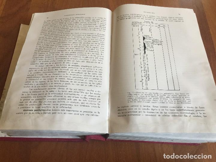 Libros antiguos: Libros TRATADO DE MEDICINA INTERNA, Cecil, Ed. Salvat, Tomos I y II, (COMPLETO), 1947 - Foto 8 - 118956187