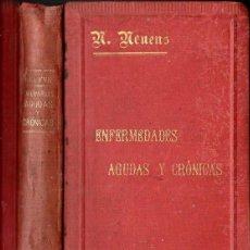 Libros antiguos: NEUENS : TRATAMIENTO NATURAL DE ENFERMEDADES AGUDAS Y CRÓNICAS POR EL SISTEMA KNEIPP (GILI, 1895). Lote 118959235