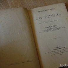 Libros antiguos: TRATADO TEÓRICO Y PRÁCTICO DE LA SÍFILIS POR ARMANDO DESPRÉS. MADRID 1876. Lote 120584015