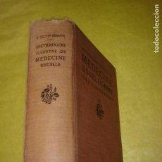 Libros antiguos: DICTIONNAIRE ILLUSTRÉ DE MÉDECINE USUALLE. GALTIER BOISSIÉRE. AÑO 1924. Lote 121528791