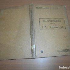 Libros antiguos: LAS ENFERMEDADES DE LAS VIAS URINARIAS PARIS BIBLIOTECA DE MEDICINA PRACTICA. Lote 121975947