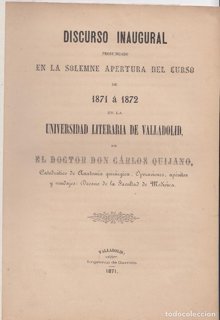 carlos quijano: discurso en la universidad de v - Comprar Libros ...