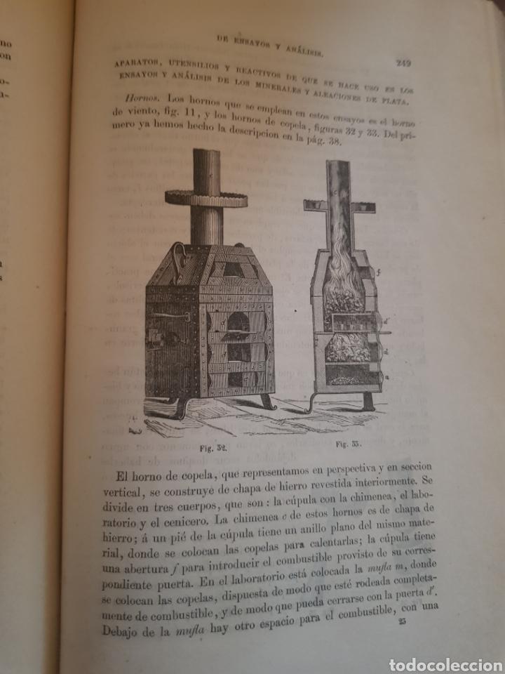 Libros antiguos: Raro libro de tratado teórico y práctico de ensayos y análisis químicos de Luis María Utor 1872 - Foto 5 - 148176772