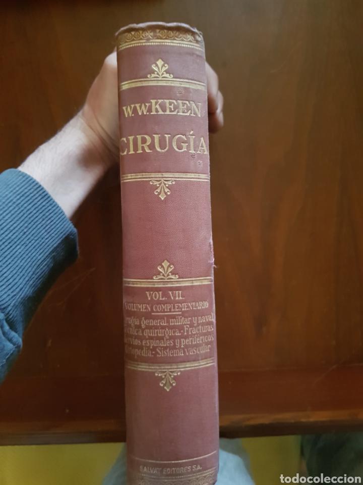 Libros antiguos: CIRUGÍA.TRATADO TEORICO-PRÁCTICO 1910-1911-1912-1914-1915. LOTE DE 8 TOMOS ILUSTRADOS- W. W. KEEN - Foto 6 - 123456532
