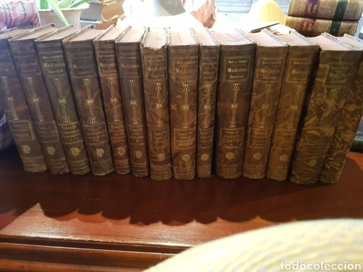 MEDICINA INTERNA 14 TOMOS (Libros Antiguos, Raros y Curiosos - Ciencias, Manuales y Oficios - Medicina, Farmacia y Salud)