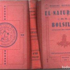 Libros antiguos: NICOLÁS CAPO : EL NATURISMO EN EL BOLSILLO (PENTALFA, 1930). Lote 125410011