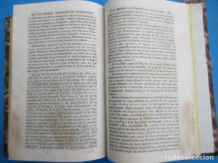 Libros antiguos: EXPOSICIÓN DE LA DOCTRINA MÉDICA HIMEOPÁTICA. S. HAHNEMANN, 1844. 426 PÁGINAS. 19,5 X 16,5 CM. - Foto 4 - 125704403
