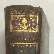 Libros antiguos: GAUBIUS, JEROME-DAVID. L'ART DE DRESSER LES FORMULES DE MEDECINE. PARÍS, 1749.. Lote 125904699