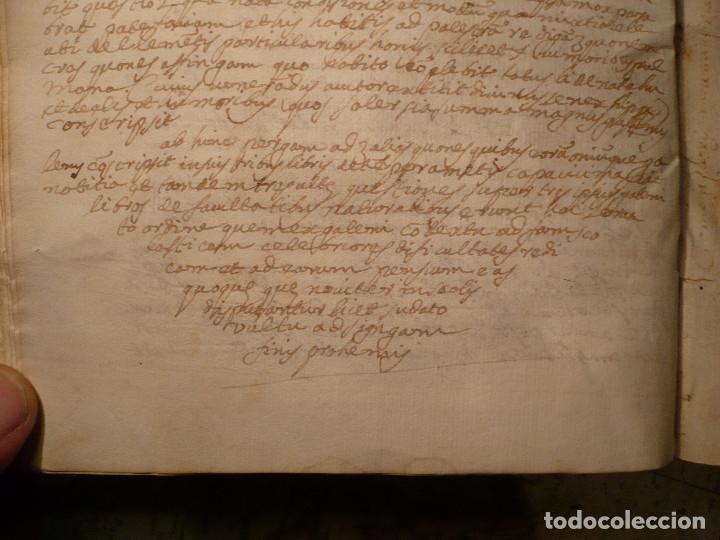 Libros antiguos: Manuscrito medicina en pergamino del S. XVII, entre 1667 y 1669 - Foto 12 - 35562786