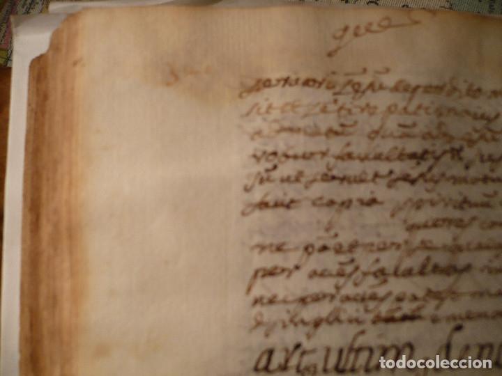 Libros antiguos: Manuscrito medicina en pergamino del S. XVII, entre 1667 y 1669 - Foto 13 - 35562786