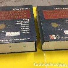 Libros antiguos: HARRISON PRINCIPIOS DE MEDICINA INTERNA – 2 TOMOS - MC GRAW HILL 1998. Lote 126096067