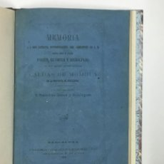 Libros antiguos: MEDICINAL DE LAS AGUAS TERMO-SALINAS DE CALDAS DE MOMBUY... SASTRE Y DOMINGUEZ, FRANCISCO. . Lote 126278971