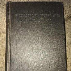 Libros antiguos: ANTIGUO LIBRO MATERIA MEDICS FARMACOLOGÍA TERAPÉUTICA CLÍNICA DENTAL BUCKLEY. Lote 126325911