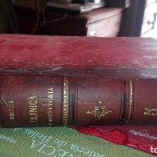 Libros antiguos: CIRUGIA, , SALVAT, BARCELONA, 1913, WILLIAM, WILLIAMS KEEN, Y OTROS. TOMO V. Lote 126387971