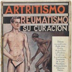 Libros antiguos: ARTRITISMO, REUMATISMO, SU CURACIÓN. - VANDER, DR. ADR. BARCELONA, 1935.. Lote 123256316