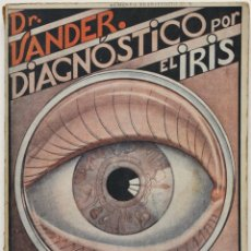 Libros antiguos: EL DIAGNÓSTICO POR EL IRIS, ACOMPAÑADO DE OTROS SIGNOS DE ENFERMEDAD. - VANDER, DR. ADR.. Lote 123256324