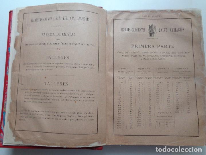 Libros antiguos: FARMACIA.CATALOGO GENERAL ILUSTRADO SUCESORES MODESTO CASADEMUNT.AÑO 1885.-346 - Foto 4 - 126636243