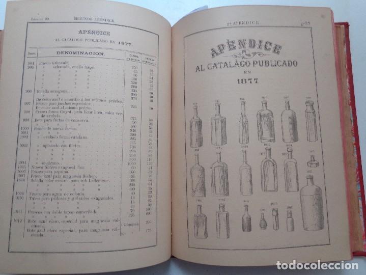 Libros antiguos: FARMACIA.CATALOGO GENERAL ILUSTRADO SUCESORES MODESTO CASADEMUNT.AÑO 1885.-346 - Foto 9 - 126636243