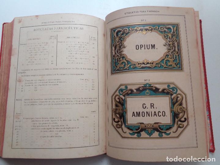 Libros antiguos: FARMACIA.CATALOGO GENERAL ILUSTRADO SUCESORES MODESTO CASADEMUNT.AÑO 1885.-346 - Foto 13 - 126636243