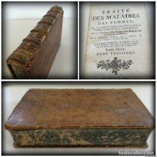 Libros antiguos: TRATADO DE LAS ENFERMEDADES DE LAS MUJERES (1770), TRAITÉ DES MALADIES DES FEMMES - TOMO 3 LA MATRIZ. Lote 128185139