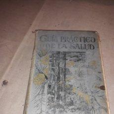 Libros antiguos: GUÍA PRACTICO DE LA SALUD. Lote 128423686