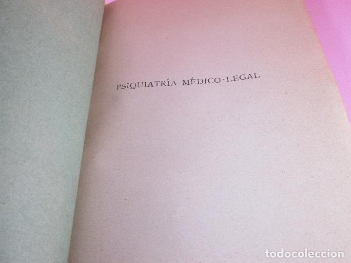 Libros antiguos: libro-psiquiatría médico legal-doctor henry claude-espasa calpe s.a.-1933-excelente estado - Foto 6 - 128503159
