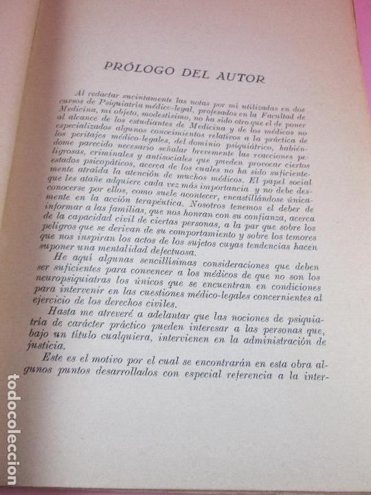 Libros antiguos: libro-psiquiatría médico legal-doctor henry claude-espasa calpe s.a.-1933-excelente estado - Foto 8 - 128503159