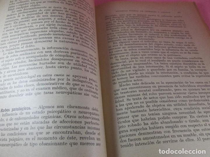Libros antiguos: libro-psiquiatría médico legal-doctor henry claude-espasa calpe s.a.-1933-excelente estado - Foto 11 - 128503159