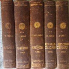 Libros antiguos: GUÍA DEL MÉDICO PRACTICO. H FRENCH ET ALII. 5 TOMOS OBRA COMPLETA BARCELONA 1918.. Lote 128631819