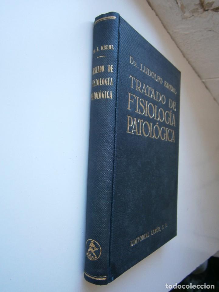 Libros antiguos: Tratado de Fisiologia Patologica Dr Lupoldo Krehl Labor 1923 - Foto 3 - 128898559