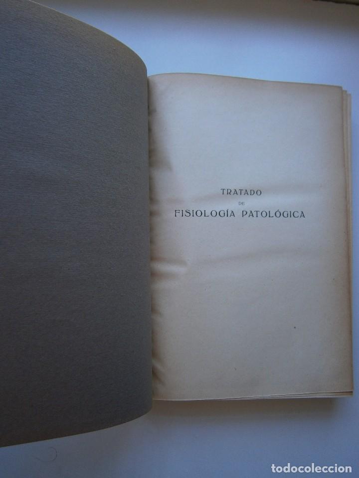 Libros antiguos: Tratado de Fisiologia Patologica Dr Lupoldo Krehl Labor 1923 - Foto 10 - 128898559