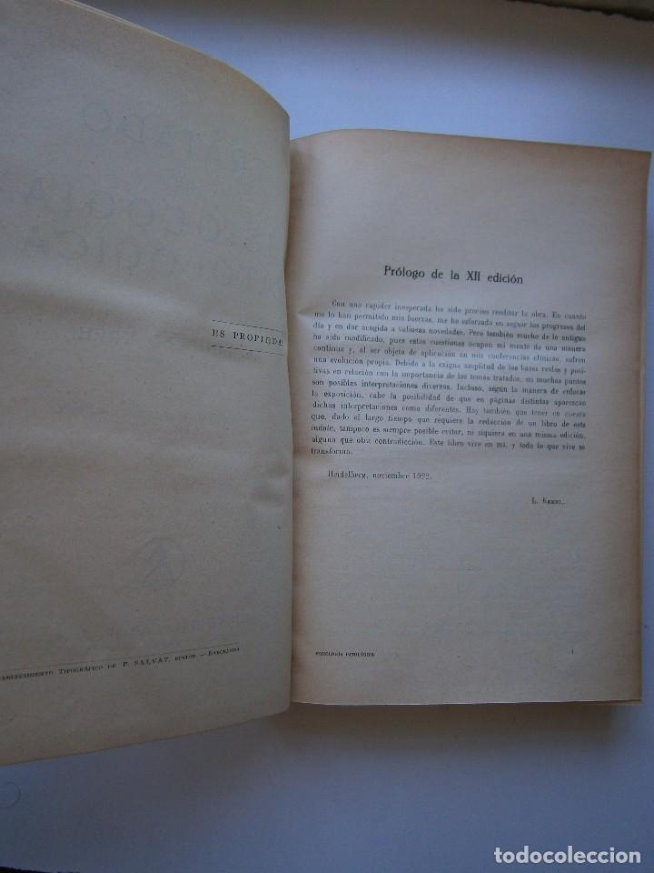 Libros antiguos: Tratado de Fisiologia Patologica Dr Lupoldo Krehl Labor 1923 - Foto 13 - 128898559
