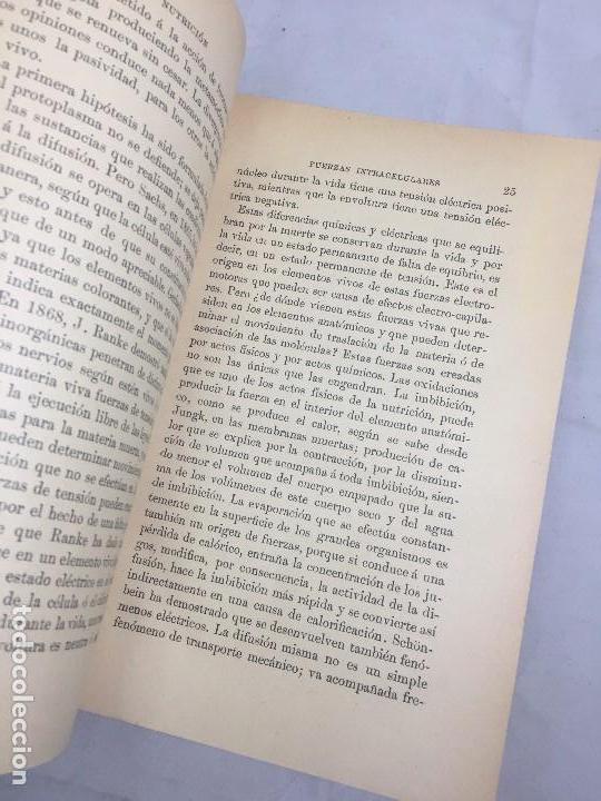 Libros antiguos: Lecciones sobre las enfermedades por retardo de la nutrición 1891 Bouchard Fremy buen estado piel - Foto 3 - 129962395