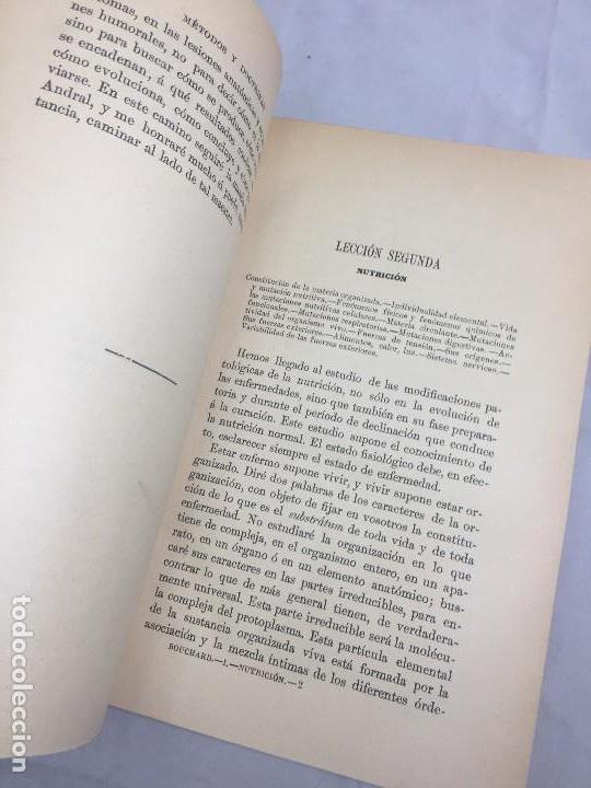 Libros antiguos: Lecciones sobre las enfermedades por retardo de la nutrición 1891 Bouchard Fremy buen estado piel - Foto 4 - 129962395