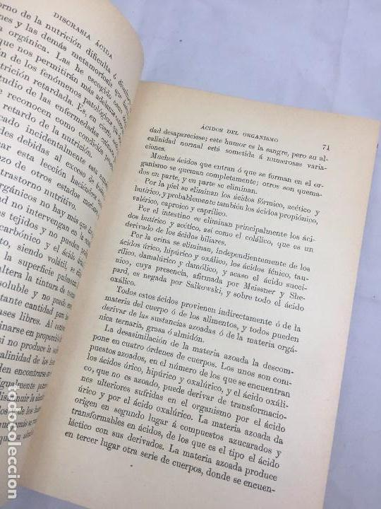 Libros antiguos: Lecciones sobre las enfermedades por retardo de la nutrición 1891 Bouchard Fremy buen estado piel - Foto 6 - 129962395