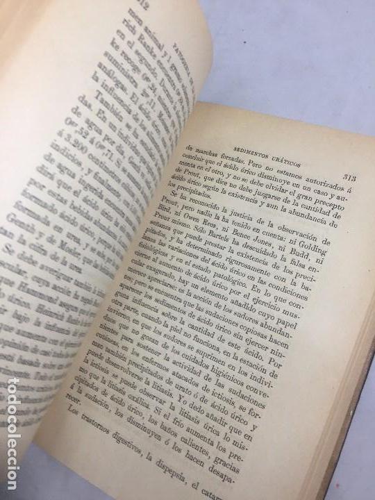 Libros antiguos: Lecciones sobre las enfermedades por retardo de la nutrición 1891 Bouchard Fremy buen estado piel - Foto 8 - 129962395
