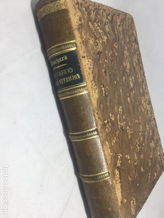 Libros antiguos: Lecciones sobre las enfermedades por retardo de la nutrición 1891 Bouchard Fremy buen estado piel - Foto 11 - 129962395