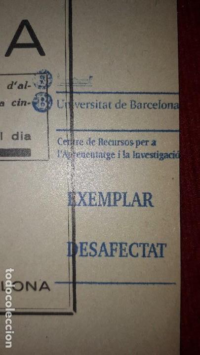 Libros antiguos: LA CIRROSIS HEPÀTIQUES. - Foto 3 - 130059587