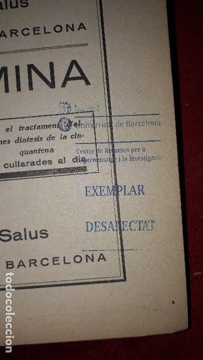 Libros antiguos: FISIOLOGIA, FISIOPATOLOGIA I CLÍNICA DE LES GLANDULES DE SECRECIÓ INTERNA. - Foto 3 - 130059955