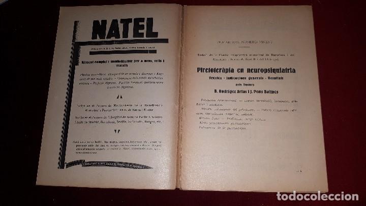 Libros antiguos: PAPER I SIGNIFICACIÓ DE LA COLESTEROLÈMIA. - Foto 2 - 130060295