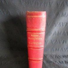 Libros antiguos: PRELIMINARES O PROLEGÓMENOS CLÍNICOS POR EL DR. TOMAS SANTERO Y MORENO AÑO 1876.. Lote 130231706