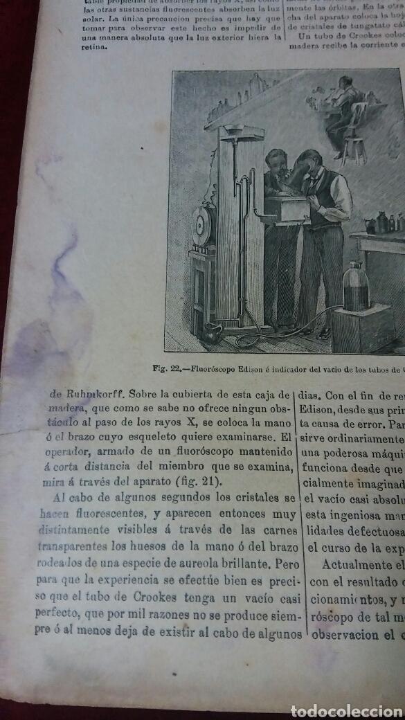 Libros antiguos: La oficina de farmacia Española según Dorvault. Suplementos del 13 al 17. - Foto 6 - 130266732