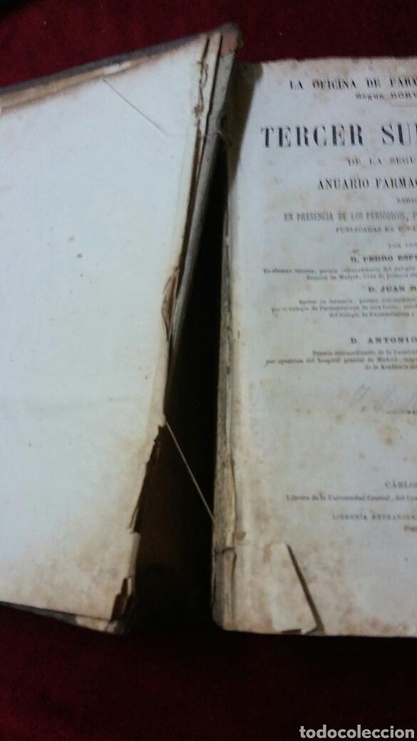 Libros antiguos: La oficina de la farmacia según Dorvault - Foto 4 - 130417039