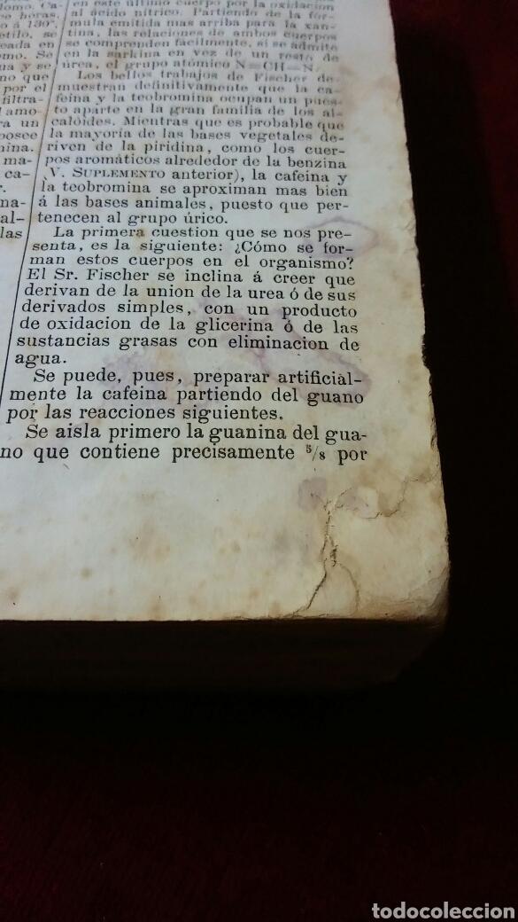 Libros antiguos: La oficina de la farmacia según Dorvault - Foto 6 - 130417039