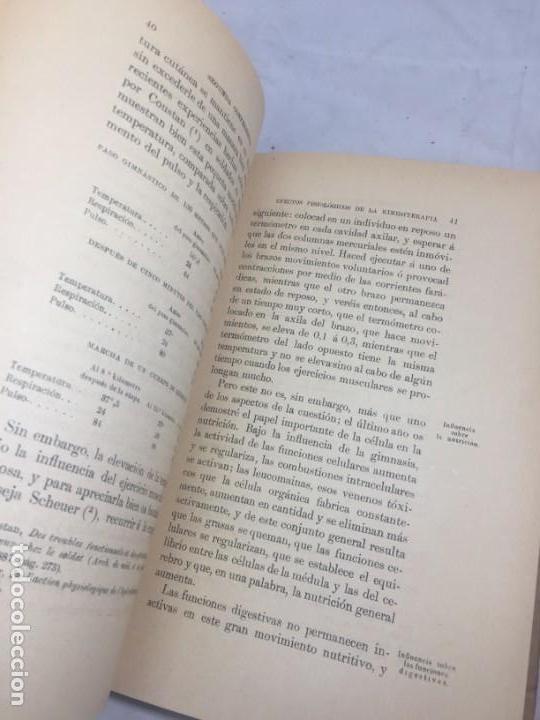 Libros antiguos: La higiene terapeutica Gimnasia Masaje Hidroterapia Aeroterapia Dujardin Beaumetz gráficos 1891 - Foto 6 - 178158034