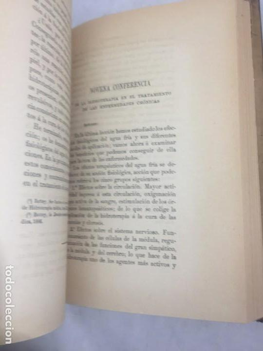 Libros antiguos: La higiene terapeutica Gimnasia Masaje Hidroterapia Aeroterapia Dujardin Beaumetz gráficos 1891 - Foto 8 - 178158034
