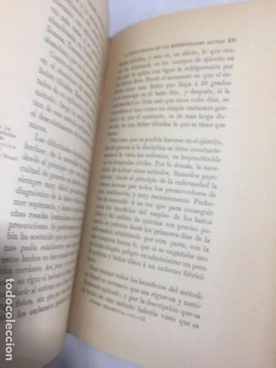 Libros antiguos: La higiene terapeutica Gimnasia Masaje Hidroterapia Aeroterapia Dujardin Beaumetz gráficos 1891 - Foto 10 - 178158034