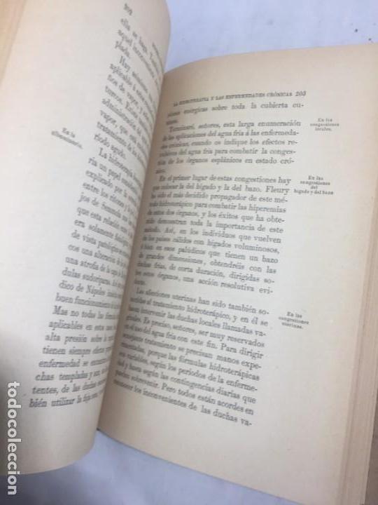 Libros antiguos: La higiene terapeutica Gimnasia Masaje Hidroterapia Aeroterapia Dujardin Beaumetz gráficos 1891 - Foto 11 - 178158034